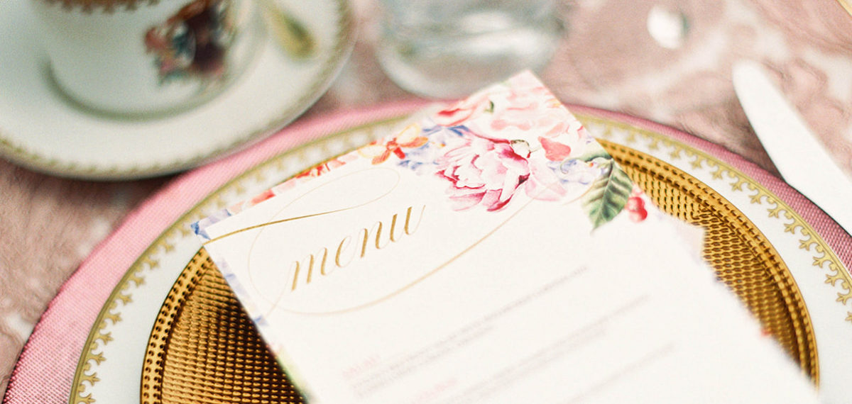Guide to planning a buffet wedding