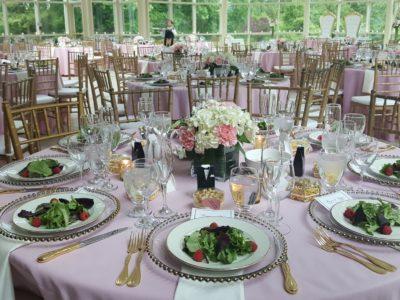 Plated Dinner Reception Washington DC